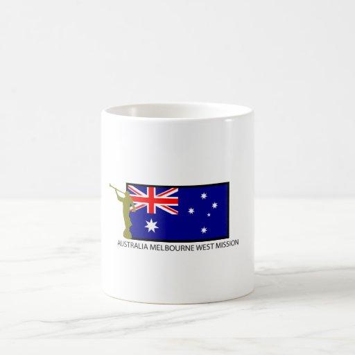 AUSTRALIA MELBOURNE WEST MISSION CTR LDS COFFEE MUGS