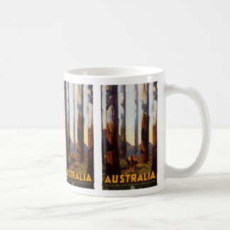 Australia Basic White Mug