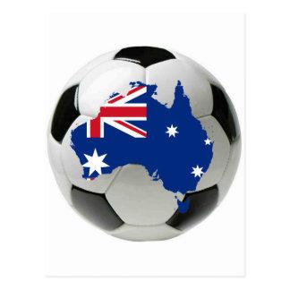 Australia national team postcard