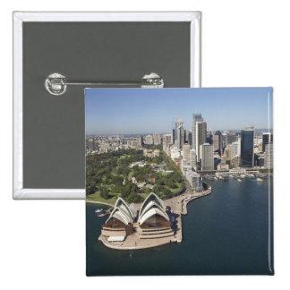 Australia, New South Wales, Sydney, Sydney 2 15 Cm Square Badge