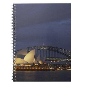 Australia, New South Wales, Sydney, Sydney Opera 3 Notebook