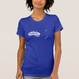 Australia, New Zealand & Fiji in Multiple Colors T-Shirt