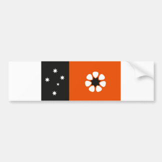 Australia northern territory flag country region bumper sticker