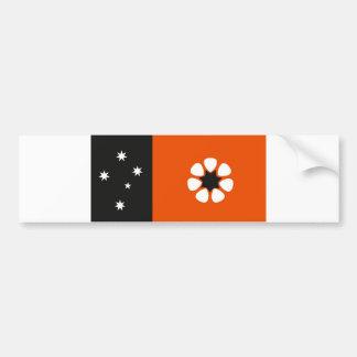 Australia northern territory flag country region bumper sticker