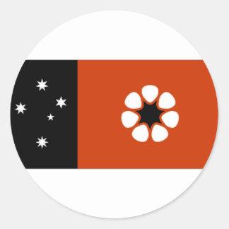 Australia Northern Territory Flag Round Sticker