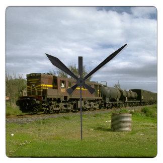 Australia, NSW Ry diesel_Trains of the World Wall Clocks