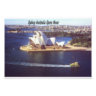 Australia Opera House Personalized Announcements