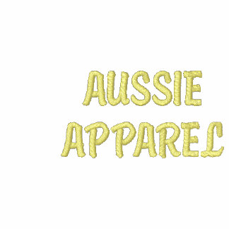 AUSTRALIA Patriotic Embroidered Aussie Apparel Embroidered Polo Shirts