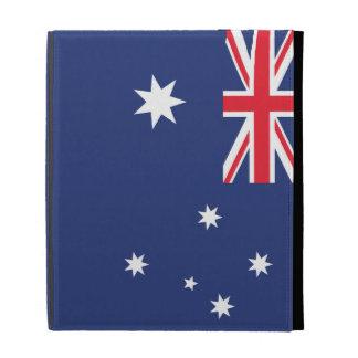 Australia Plain Flag iPad Folio Covers