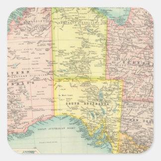 Australia political square sticker