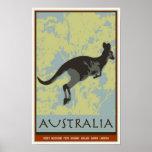 Australia Print