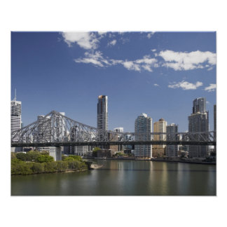Australia, Queensland, Brisbane, Story Bridge, Poster
