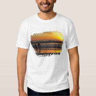 Australia, Queensland, Gold Coast, Surfers at Tee Shirt