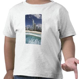 Australia, Queensland, Gold Coast, Surfers Tee Shirt