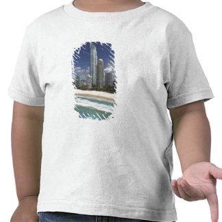 Australia, Queensland, Gold Coast, Surfers Tee Shirts