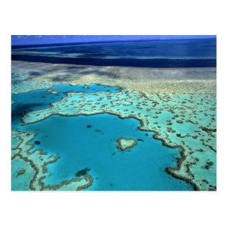 Australia - Queensland - Great Barrier Reef. 3 Postcard