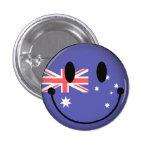 Australia Smiley Buttons