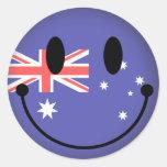 Australia Smiley Stickers