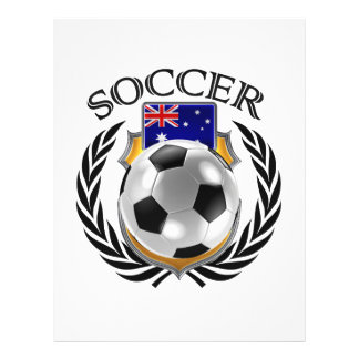 Australia Soccer 2016 Fan Gear 21.5 Cm X 28 Cm Flyer
