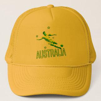 Australia Soccer #5 Trucker Hat