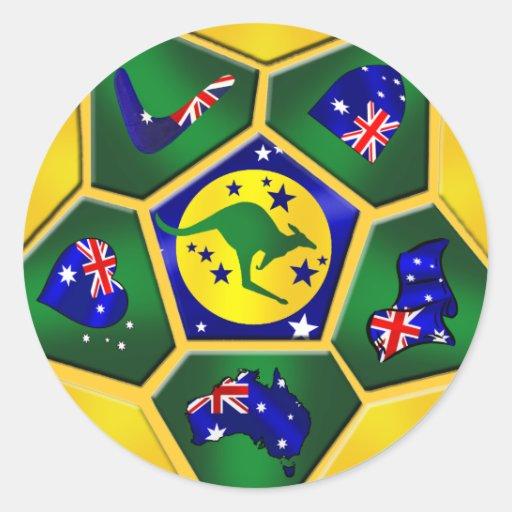 Soccer Ball Lamp Australia: Australia Soccer Ball Panels Australia Flag Gear Classic