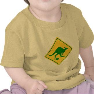 Australia Soccer kanga Infant t-shirt
