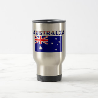 Australia Stainless Steel 15 oz Travel Mug