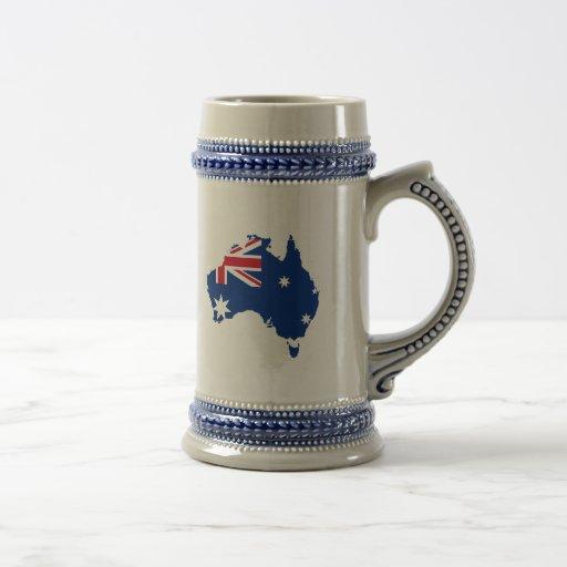 Australia stub, Australia Coffee Mug