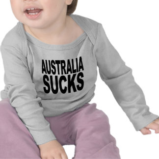 Australia Sucks Tee Shirts