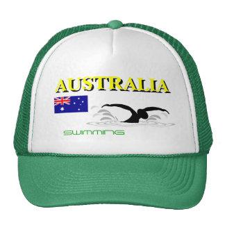 Australia Swimming Hat