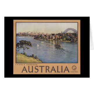Australia Sydney Harbour Greeting Card