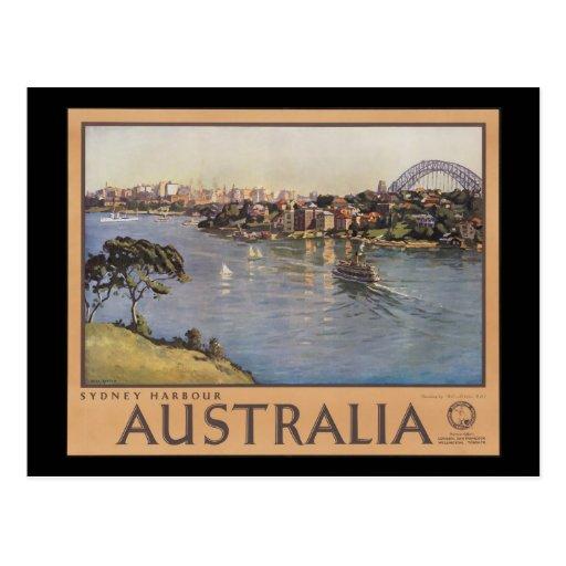 Australia Sydney Harbour Post Card