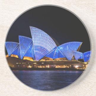 Australia Sydney Opera House At Night Coasters