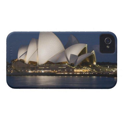Australia, Sydney. Opera House at night on Blackberry Bold Case