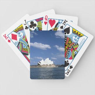Australia  sydney opera house bicycle poker deck