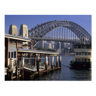 Australia, Sydney, Passenger ferry, one from Postcard