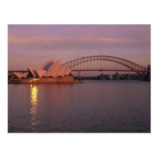 Australia, Sydney, Sydney Opera House built Postcard