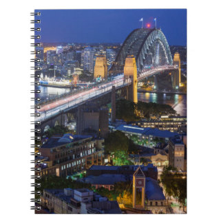 Australia, Sydney, The Rocks area, Sydney Harbor Notebook