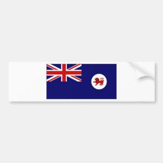 Australia Tasmania Flag Bumper Sticker