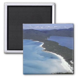 Australia, The Whitsundys, Queensland. Hill Square Magnet