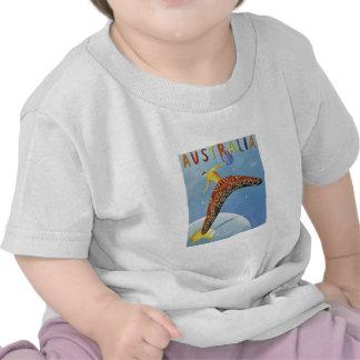 Australia Travel poster T-shirts