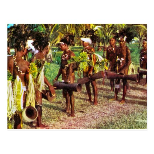 Australia, Tribal festival, New Guinea Postcards