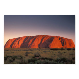 Australia, Uluru National Park. Uluru or Photograph