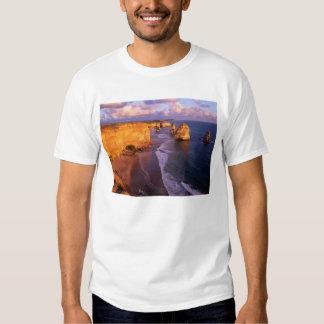 Australia, Victoria. 12 Apostles, Port T-shirt