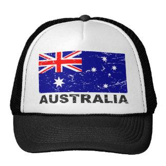 Australia Vintage Flag Trucker Hat