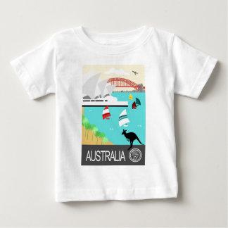 Australia vintage poster baby T-Shirt
