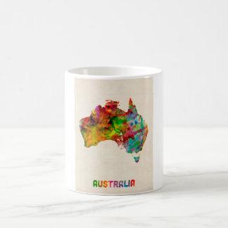 Australia Watercolor Map Mug
