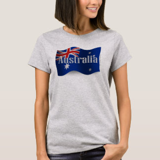 Australia Waving Flag T-Shirt
