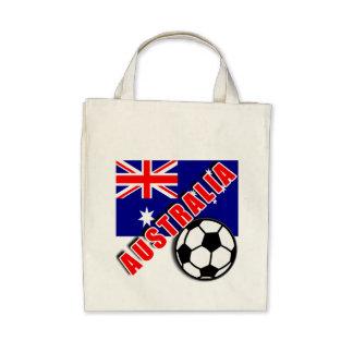 AUSTRALIA World Soccer Fan Tshirts Canvas Bags