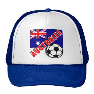 AUSTRALIA World Soccer Fan Tshirts Trucker Hat